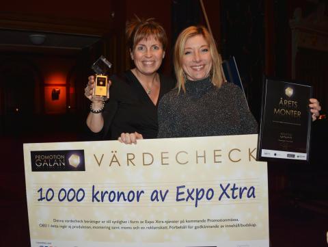 Magasin friend of Brands vann Årets Monter på Promotiongalan 2016