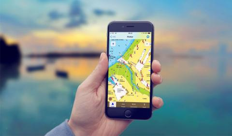 Navionic's app users get AIS compatibilty from Digital Yacht