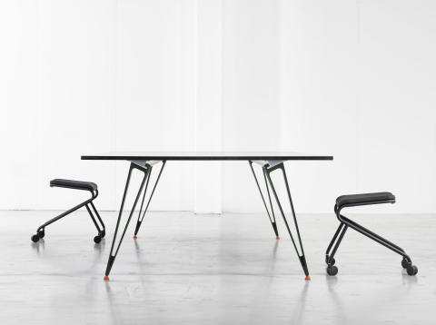 Lammhults presenterar ATTACH bordssystem i samarbete med Troels Grum-Schwensen. Stockholm Furniture Fair 2016