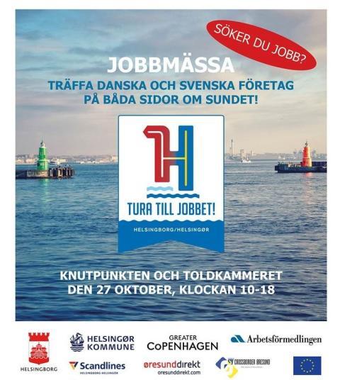 Tura till jobbet – invigning av svenskdansk jobbmässa i Helsingborg och Helsingör