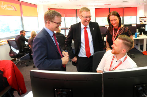 Virgin Trains expands Newcastle call centre with 45 new jobs