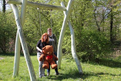 Spenden statt Schenken: Martin Binder feiert Geburtstag und beglückt Bärenherz