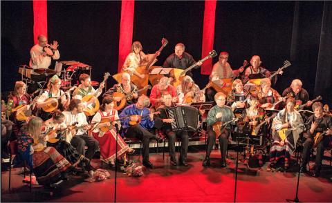 Boka biljetter till Södra Bergens Balalaikors jubileumskonsert i Spannarboda