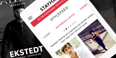 Stayhard lanserar Stylefeed – en personaliserad inspirationssite