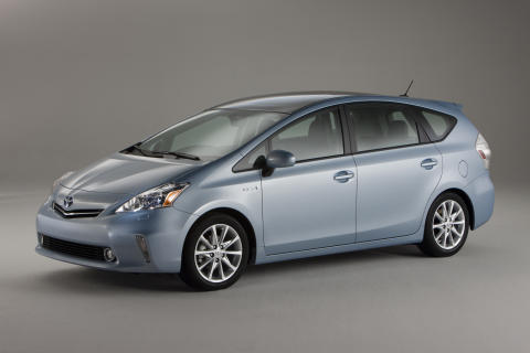 Toyota Prius+ den första sjusitsiga fullhybridbilen
