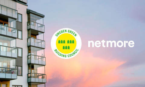 Netmore medlem i Sweden Green Building Council