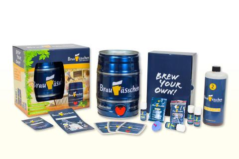 """Selbst Bier brauen: Das Weihnachtsgeschenk, bei dem man selbst zum """"Braumeister"""" wird!"""
