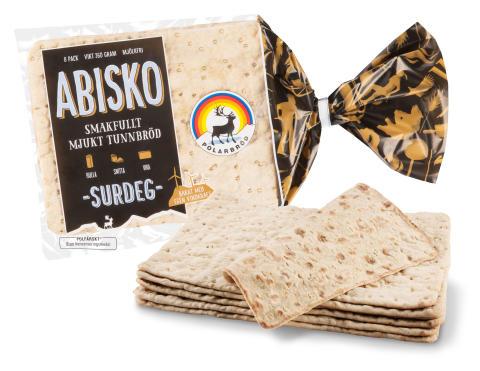 Abisko - Smakfullt mjukt tunnbröd bakat på surdeg
