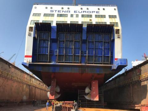 Stena Europe Undergoes Refit Upgrades in Turkey