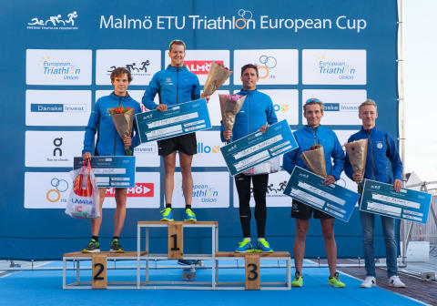 Vinnare Herr elit Danske Invest Triathlon Series