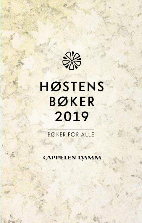 Høstens bøker fra Cappelen Damm