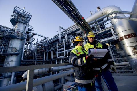 Energimyndigheten ger stöd till Preems och Vattenfalls planerade vätgasfabrik i Göteborg