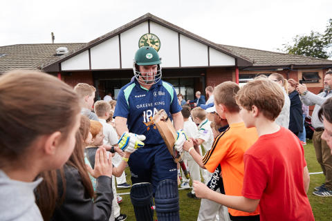 Cricket World Cup Family Days prove a success