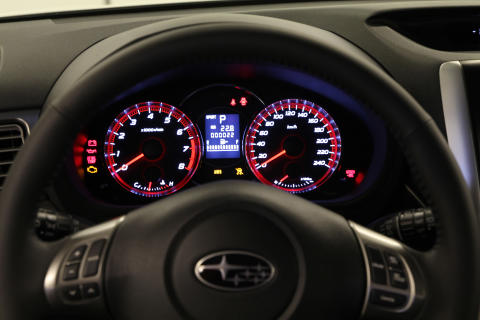 Nya Subaru Forester - Mätare