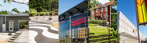 Dags att rösta fram årets byggnad i Huddinge