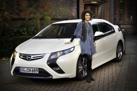 Opel Ampera och Katie Melua