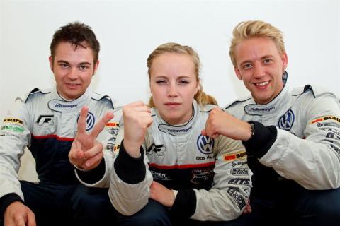 Världsmästare utmanar i Volkswagen Scirocco R-Cup – rally möter racing på Nürburgring