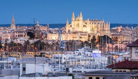 Trendikäs Mallorca on paras paikka kuuluisuuksien bongaamiseen