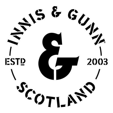 Innis & Gunn Logo Blk