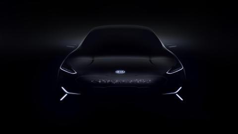 Kia EV Concept CES _front