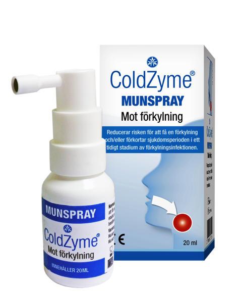 Stoppa förkylningen med ColdZyme Munspray