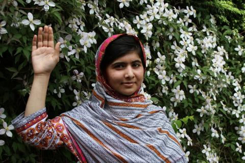 Ungdomar tar över FN:s generalförsamling på Malala Day