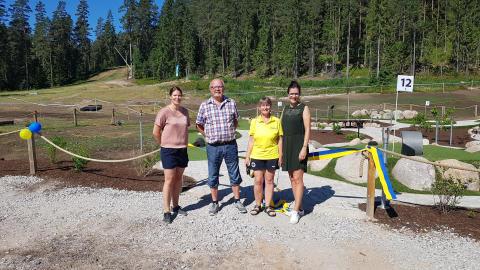 Lyckad invigning av Isaberg Adventure golf