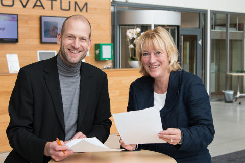 Innovatum och Högskolan Väst lovar ett tätare samarbete