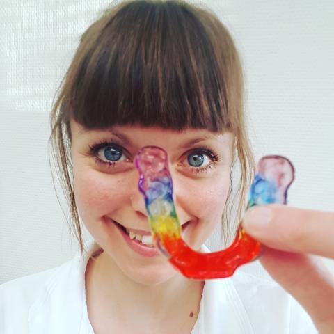 Johanna Ene från Göteborg är Årets tandsköterska