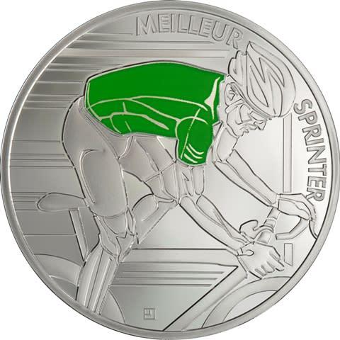 Tour de France - jubilæumsmønt