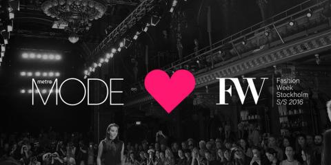 Metro Mode livestreamar modevisningar under Fashion Week