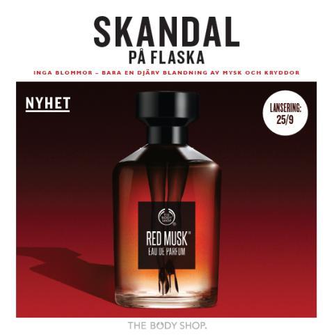 The Body Shop lanserar en skandal på flaska!