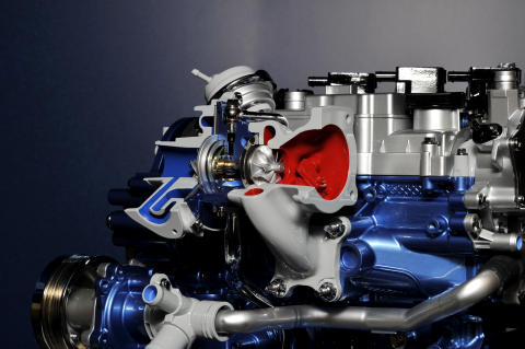 "Fords 1-liter Ecoboostmotor - kåret til ""International Engine of the Year"" - for 6. år på rad"