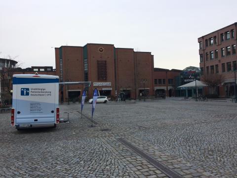 Beratungsmobil der Unabhängigen Patientenberatung kommt am 12. April nach Norderstedt.