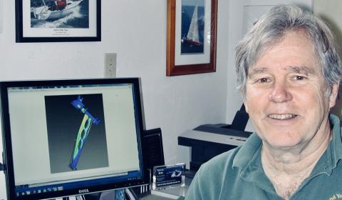 Hi-res image - Ocean Signal - Naval architect Jim Antrim