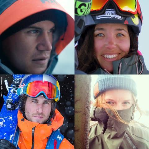 Team Åre Sweden på Freeride World Tour