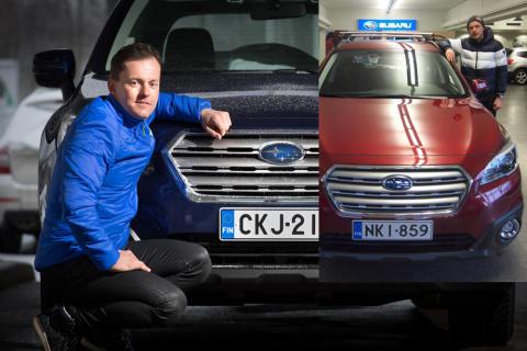 Subaru Sami Jauhojärven ja Iivo Niskasen kanssa yhteistyöhön