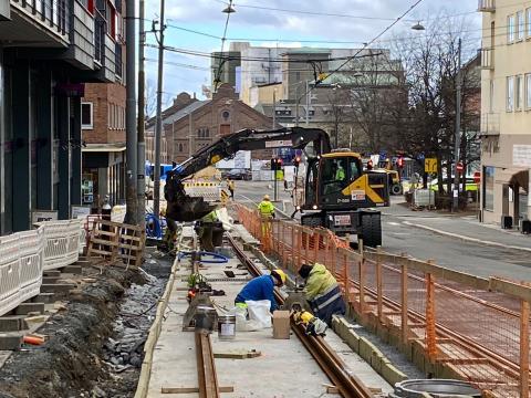 Prosjekt Grefsenveien nedre