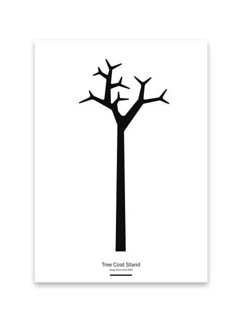 Tree Coat Stand poster