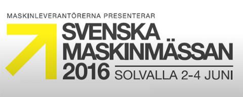 Svenska Maskinmässan - besök Volvo och Swecon på Solvalla 2-4 juni 2016