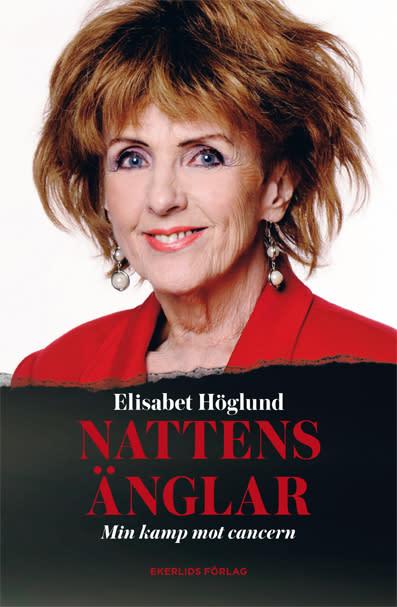 Omslag till boken Nattens änglar - min kamp mot cancern av Elisabet Höglund