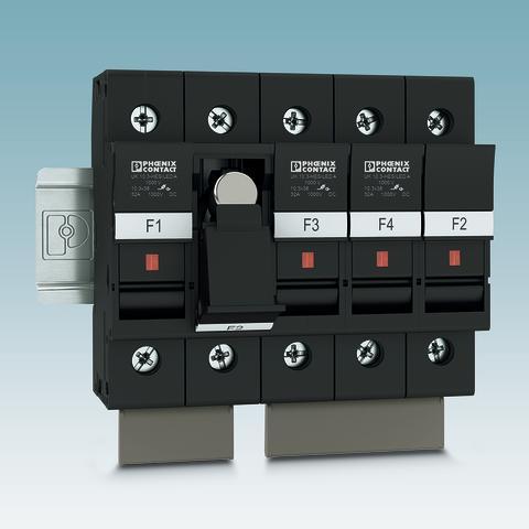 Fuse terminal blocks up to 1000 V