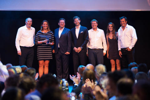 Volvo Ocean Race Competitor 'Turn the Tide on Plastics' Wins Bluewater 2018 Water Without Plastic Legacy Award