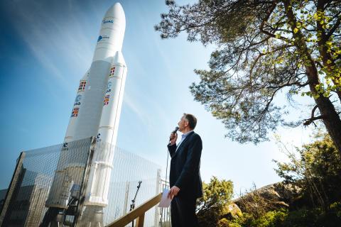 Raketen i Kallebäck invigd