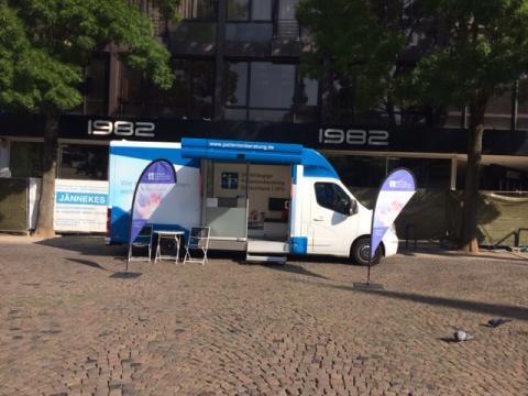 Beratungsmobil der Unabhängigen Patientenberatung kommt am 20. September nach Aachen.