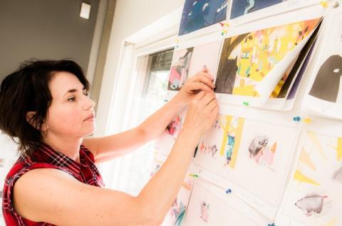 Alice Lima de Farias bildebok Fuglefesten tar de svakestes parti