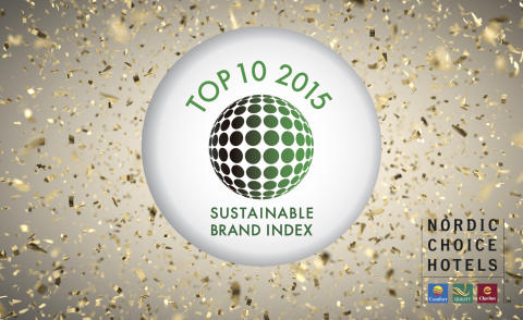 Nordic Choice Hotels med fire topp 10-plasseringer i årets Sustainable Brand Index.