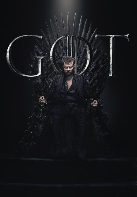 Game of Thrones 8 - Euron Greyjoy (Pilou Asbæk)