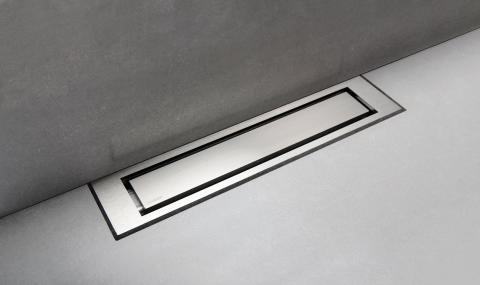 Golvränna / Duschränna - unidrain® HighLine Panel med ram