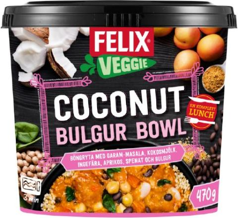 Coconut Bulgur Bowl